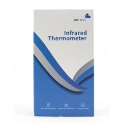 BBLOVE Termometro Digitale ad Infrarossi per Misura Senza Contatto - Bianco