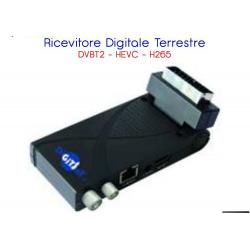 RICEVITORE DVB-T2 MINI-SCART HEVC HD LAN USB 10 BIT XDOME