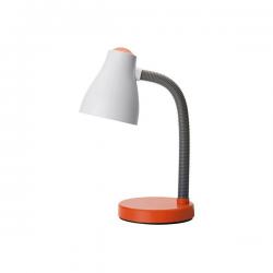 PERENZ Lampada da scrivania flessibile 1xE27 arancione illuminazione Tavolo