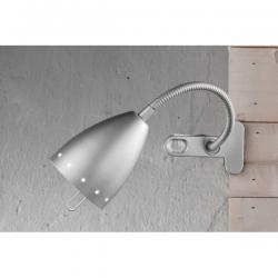 PERENZ LAMPADA DA TAVOLO FLESSIBILE E14 40W ARGENTO