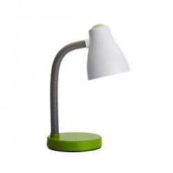 PERENZ Lampada da scrivania flessibile 1xE27 Verde illuminazione Tavolo