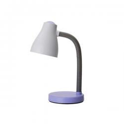 PERENZ Lampada da scrivania flessibile 1xE27 Viola illuminazione Tavolo