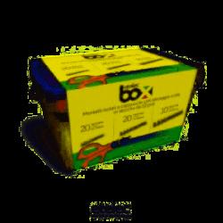Kit Box3 morsetti a cappuccio TBOX con forbici professionali