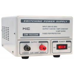 ALIMENTATORE PROFESSIONALE SWITCHING 13.8V 10A MKC DM1924SW