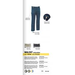 Pantaloni da lavoro Diadora Utility WALENT Blu Mar Caspio 156936 60066