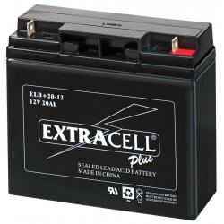 Batteria al Piombo 12V 20 Ah Ricaricabile -EXTRACELL