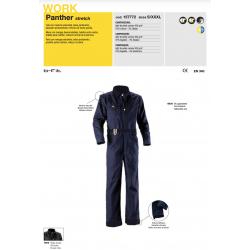 Tuta da lavoro Diadora Utility PANTHER stretch Blu gagliardetto 157772 60030