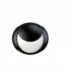 Plafoniera da esterno MIT VISIERA MAX 23W E27 FBT IP54 NERO FBT1192732 LAMPAD. NON INCLUSA