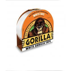 Nastro Americano adesivo superfici irregolari 27m x 48mm - Gorilla Tape BIANCO