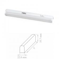 "LAMPO REGLETTE PT5 LED BIANCA ""LAMPO"" 4 W LUCE NATURALE IP20 lunghezza 275mm"