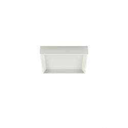 Linea Light - Tara Q AP PL LED M - Plafoniera moderna quadrata colore Bianco