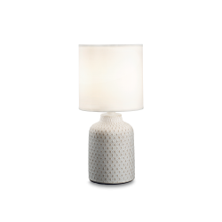 Ideal Lux Mod. KALI'-3 TL1 Lampada Da Tavolo 1 Luce E14 max 1 x 40W BIANCO