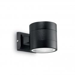 Lampada da Parete Applique Ideal Lux Snif Round Ap1 1 x 40w Max Attacco G9 NERO