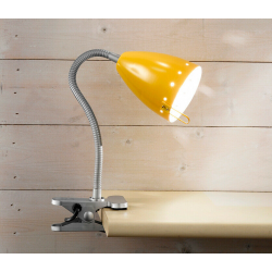 PERENZ LAMPADA DA TAVOLO FLESSIBILE E14 40W GIALLO