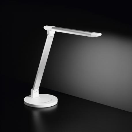 Lampada da Tavolo Led 7W 600lm Perenz Bianca 6026 B dimmerabile e cambio temperatura luce
