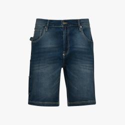 Bermuda Jeans Denim Diadora Utility BERMUDA STONE dirty washing 173549 C6207
