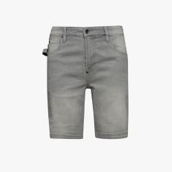 Bermuda Jeans Denim Diadora Utility BERMUDA STONE GRIGIO CHIARO 173549 75147