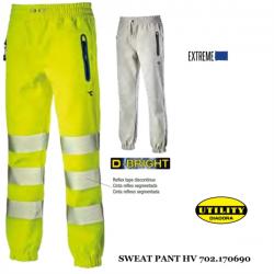 Pantaloni da lavoro Diadora Utility SWEAT PANT HV Cat 2 reversibili 170690 C6192
