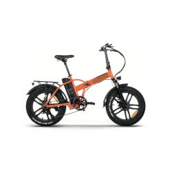 Bici elettrica pieghevole Airbike FAT 20 S Arancione 250W 36V pedalata assistita