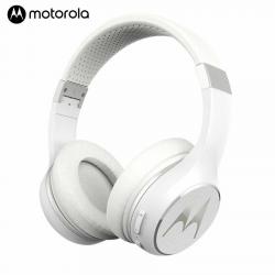 Motorola Escape 220 Cuffie Senza Fili con Suono HD Microfono Vivavoce Bianco