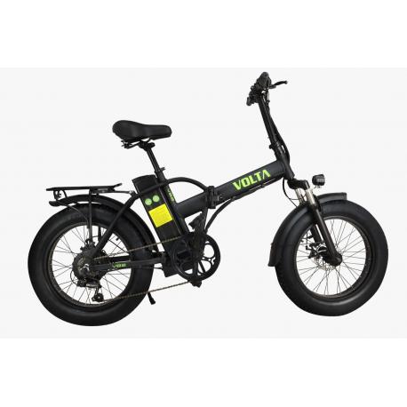 Bici elettrica pieghevole Airbike FAT 20 S Nero/Arancione 250W 36V pedalata assistita