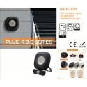 Proiettore led flood 20W + Pir 1600 lumen 4000K luce naturale IP54 Lumitek