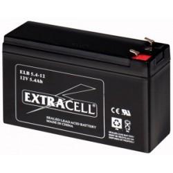 Batteria al Piombo 12V 5.4 Ah Ricaricabile - Extracell