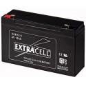 Batteria al Piombo 6V 12 Ah Ricaricabile - Extracell