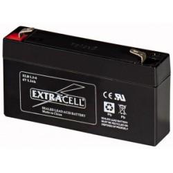 Batteria al Piombo 6V 1.3 Ah Ricaricabile - Extracell