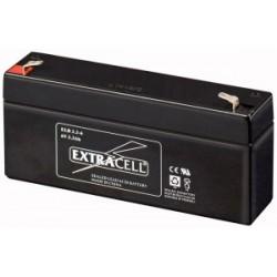 Batteria al Piombo 6 V 3.3 Ah Ricaricabile - Extracell