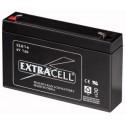 Batteria al Piombo 6V 7 Ah Ricaricabile - Extracell