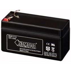 Batteria al Piombo 12V 1.3 Ah Ricaricabile - Yamada